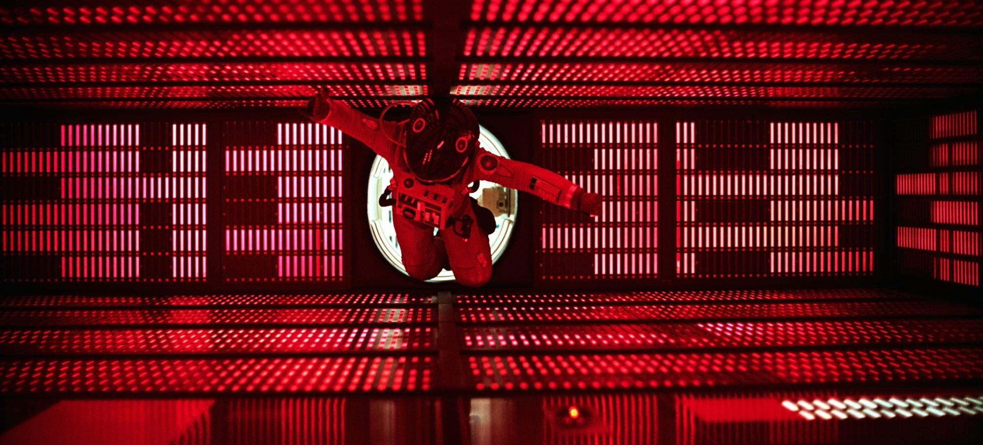 Filmszene aus 2001: Odyssee im Weltraum