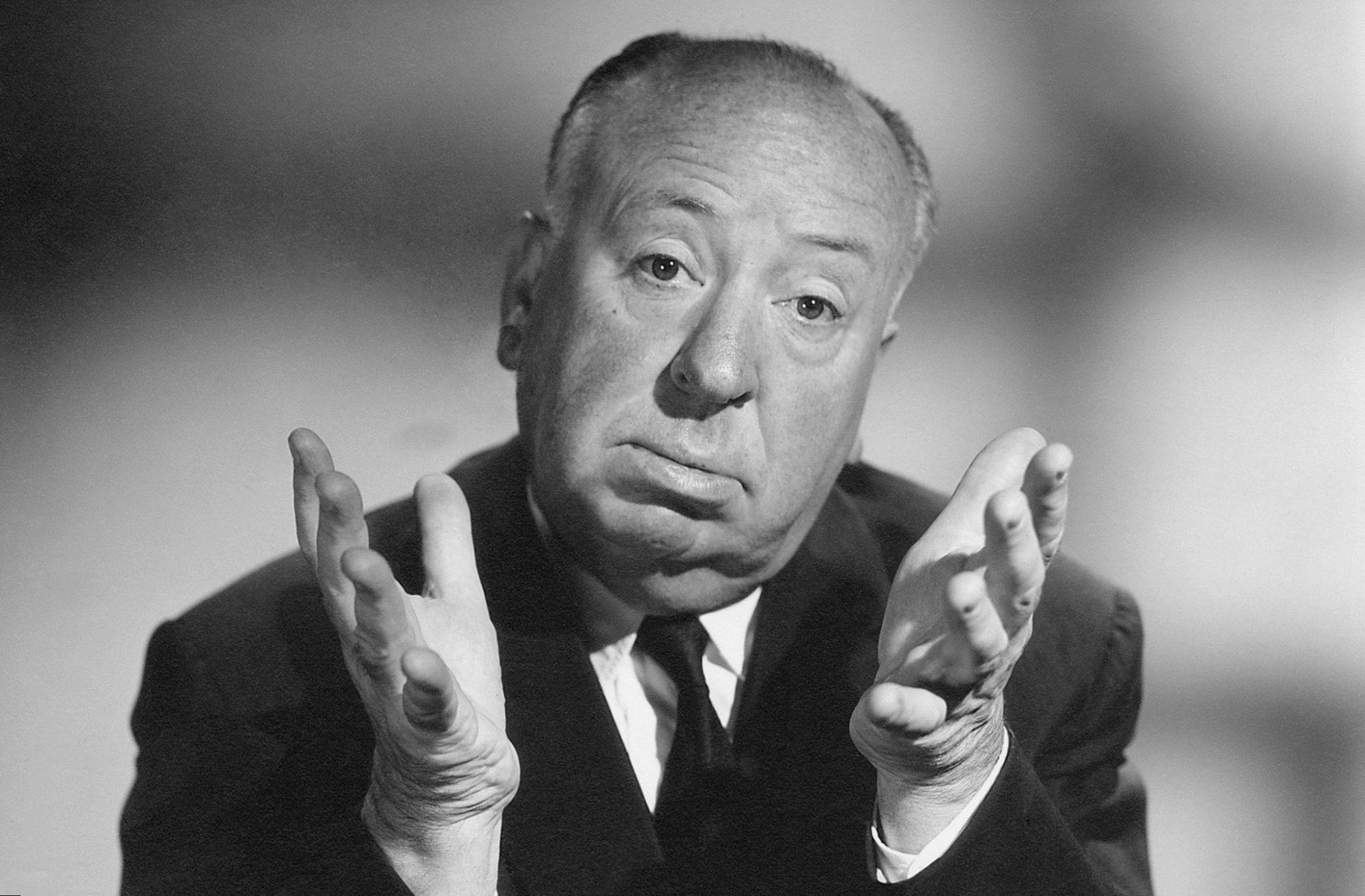 Der Regisseur Alfred Hitchcock