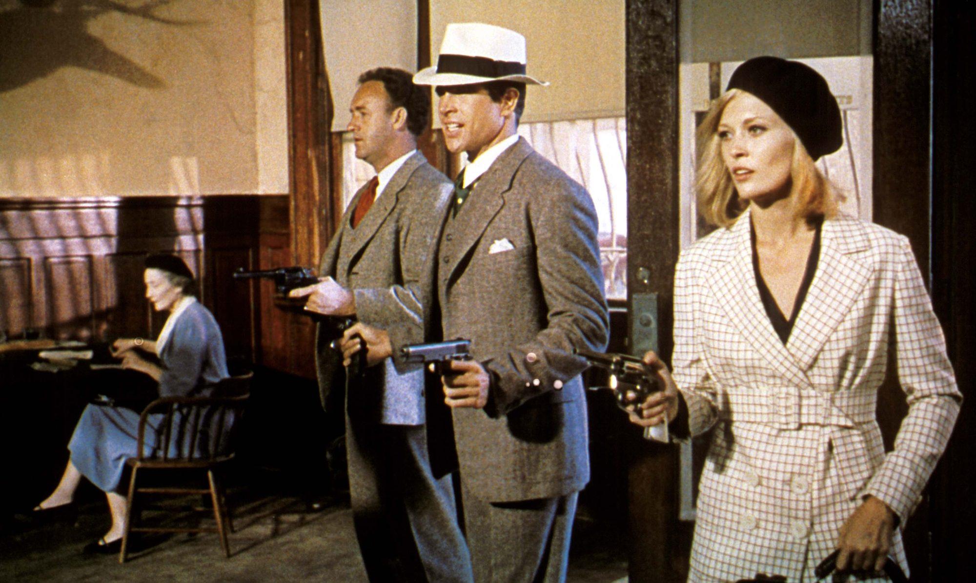 Filmszene aus Bonnie und Clyde