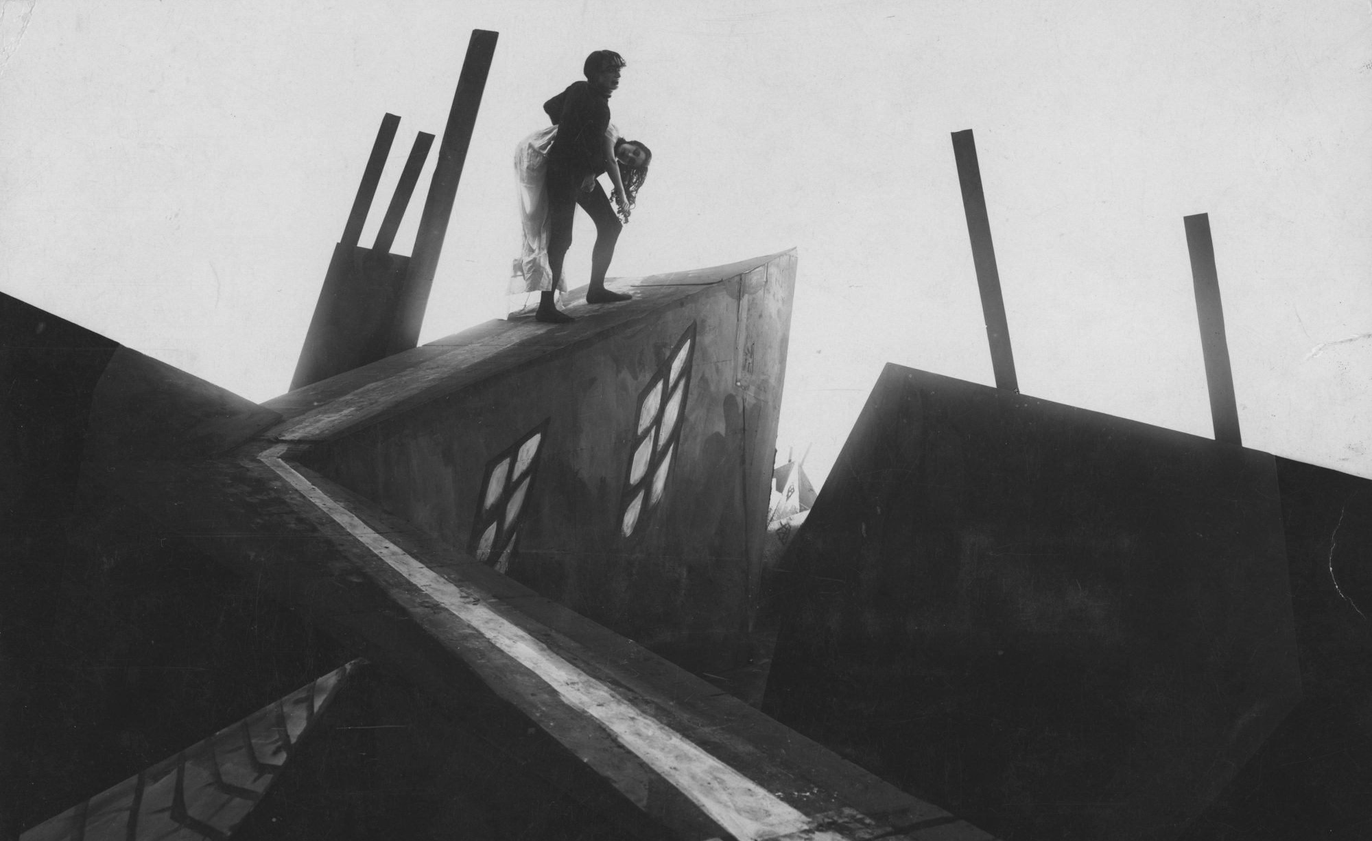Filmszene aus Das Cabinet des Dr. Caligari