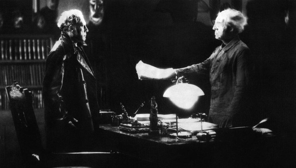 Filmszene aus Das Testament des Dr. Mabuse