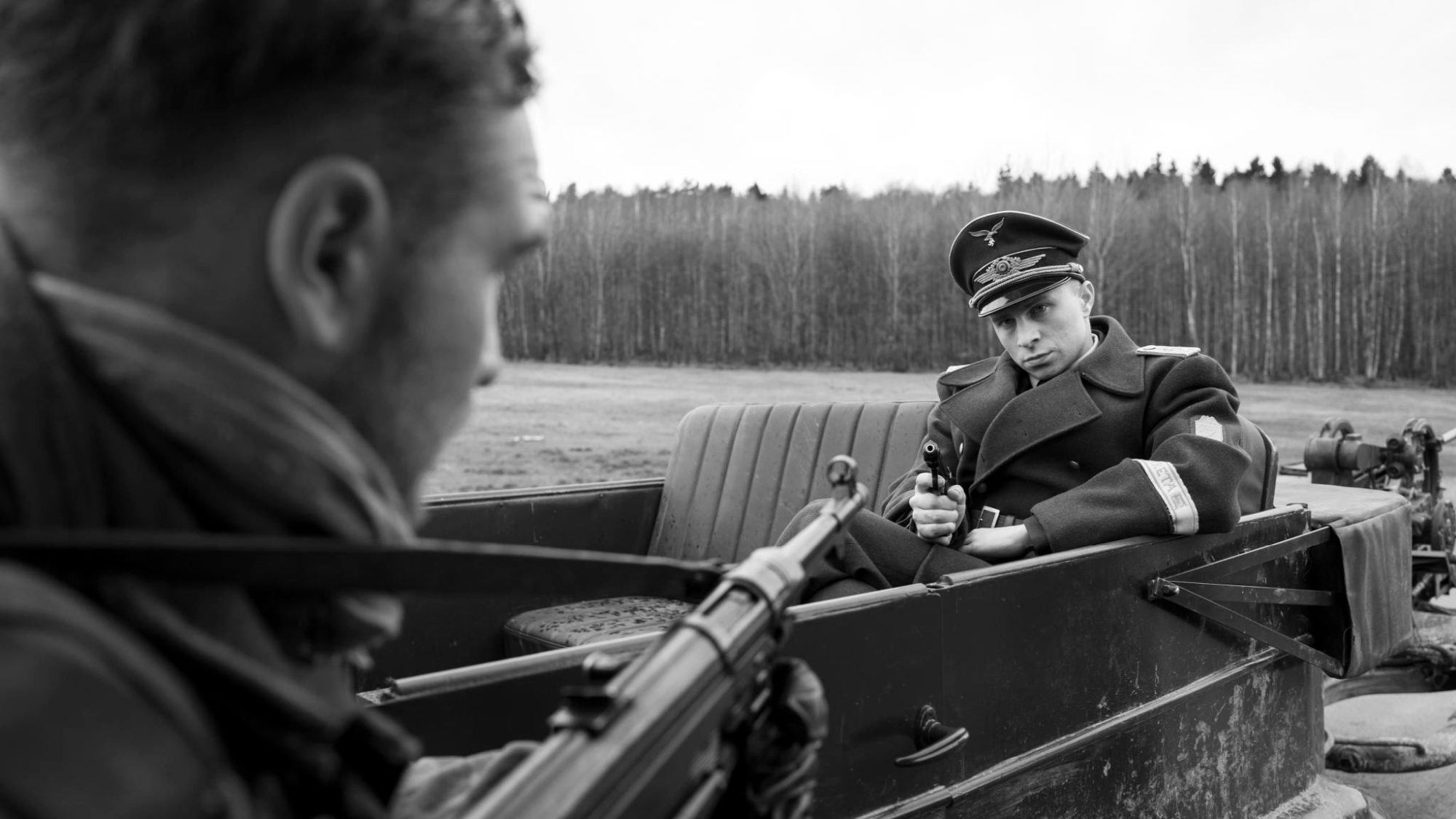Filmszene aus Der Hauptmann