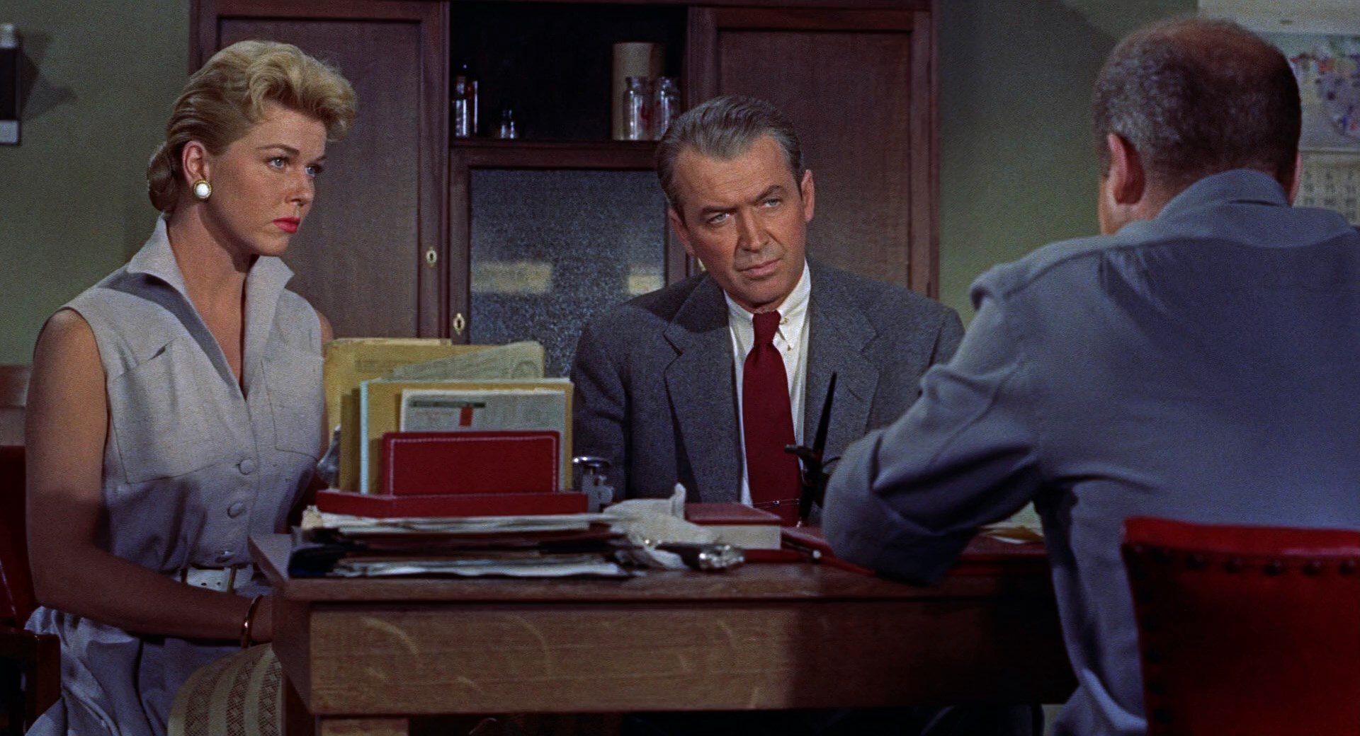 Filmszene aus Der Mann, der zuviel wusste (1956)
