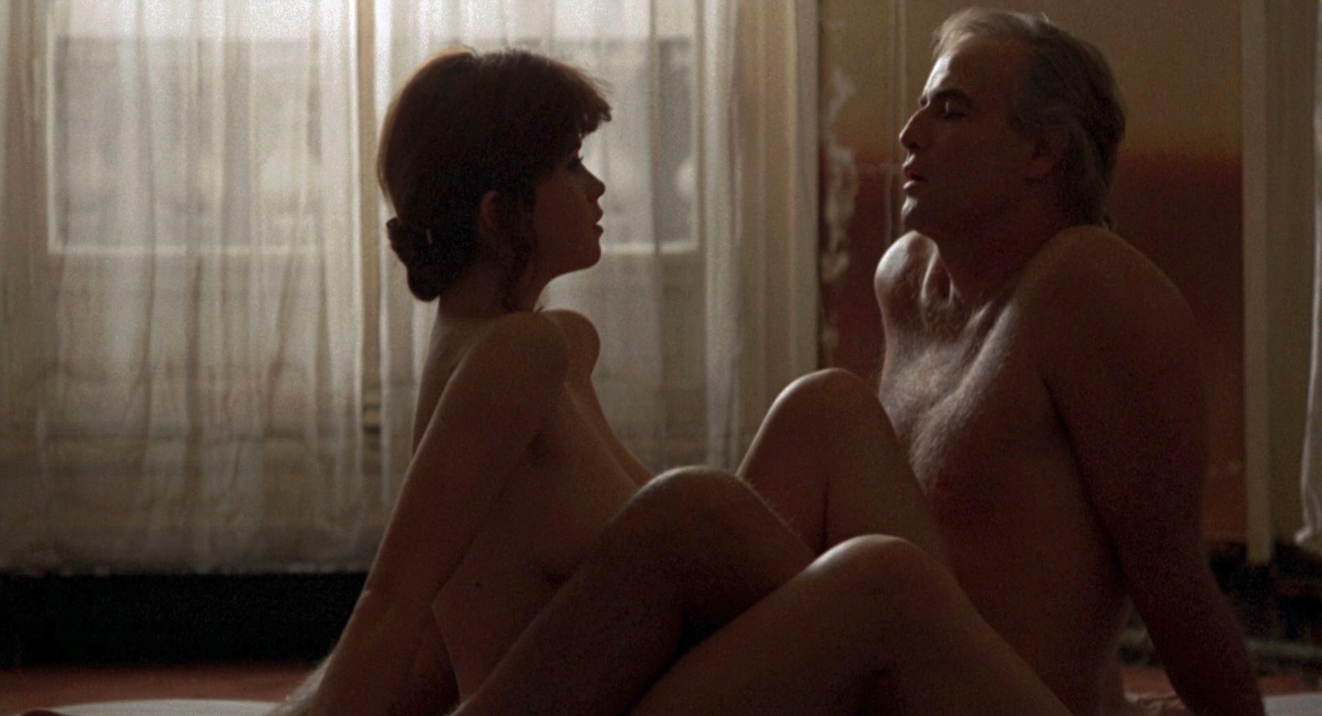 Filmszene aus Der letzte Tango in Paris
