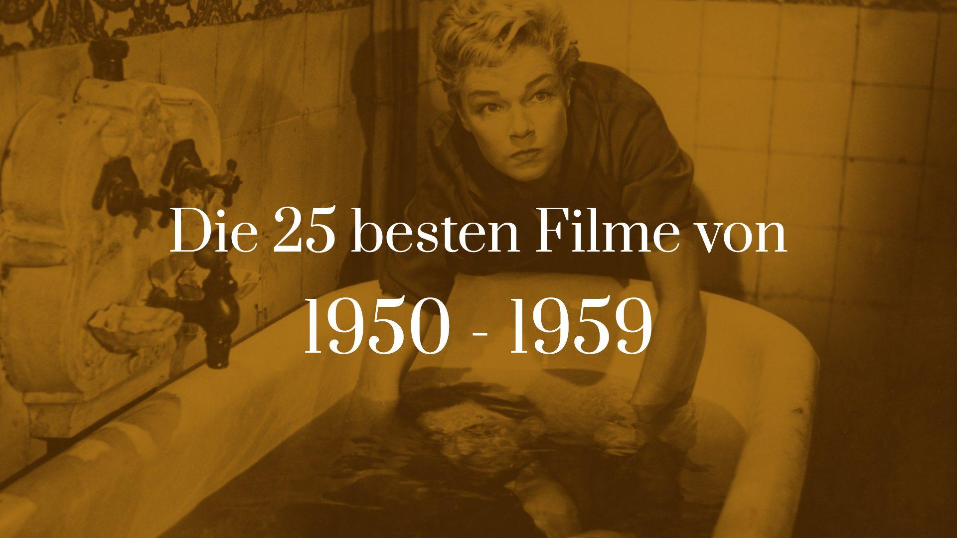 Titelbild für Die 25 besten Filme von 1950 bis 1959