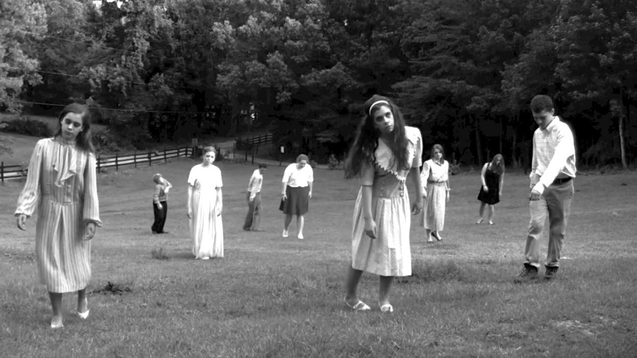 Filmszene aus Die Nacht der lebenden Toten