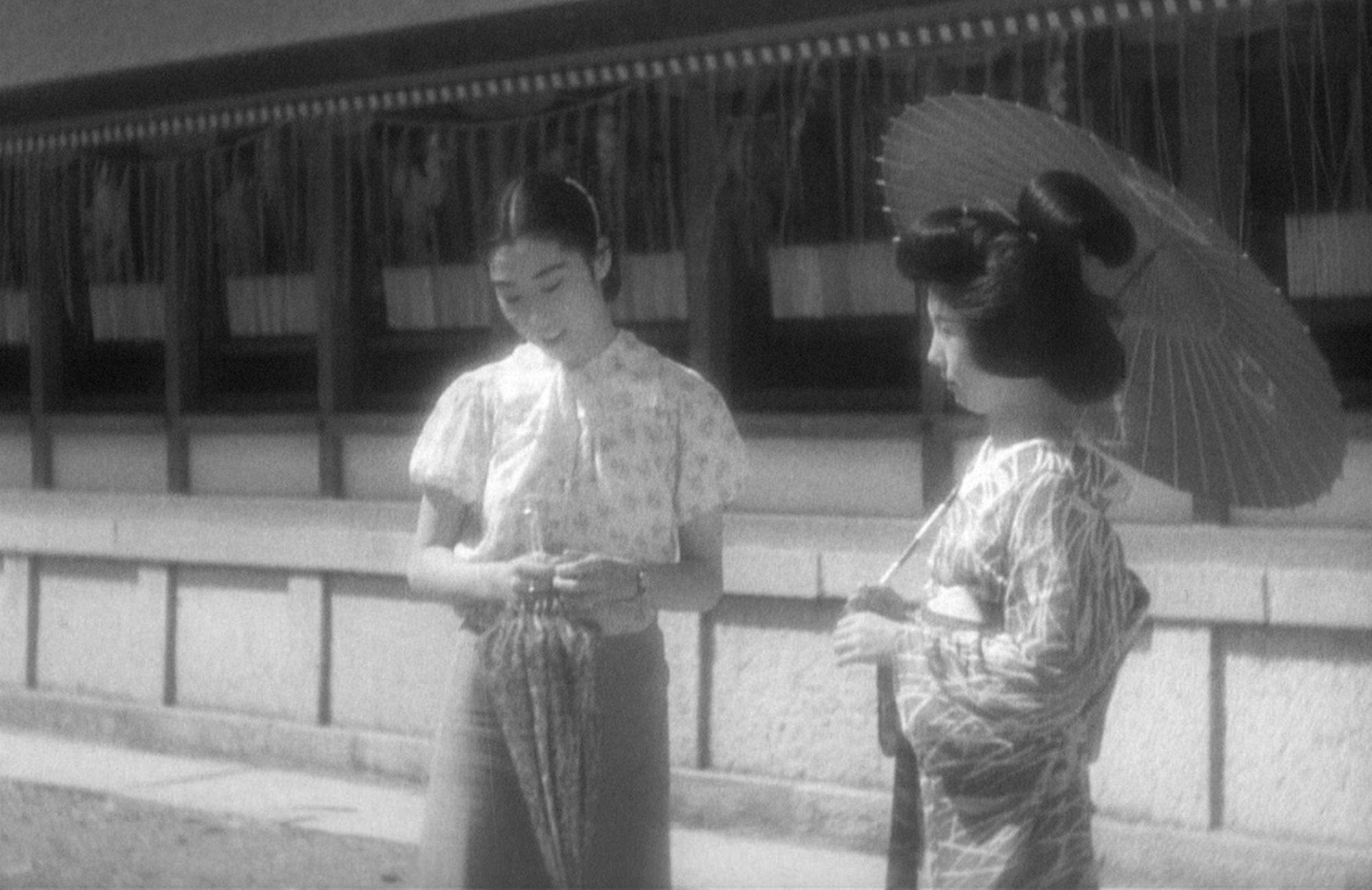 Filmszene aus Die Schwestern von Gion