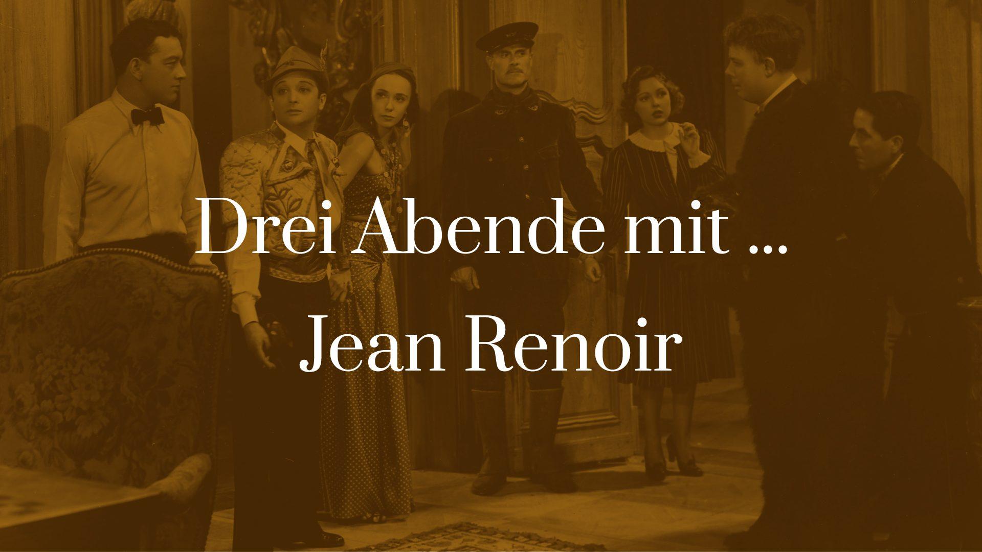 Symbolbild zu Drei Abende mit Jean Renoir