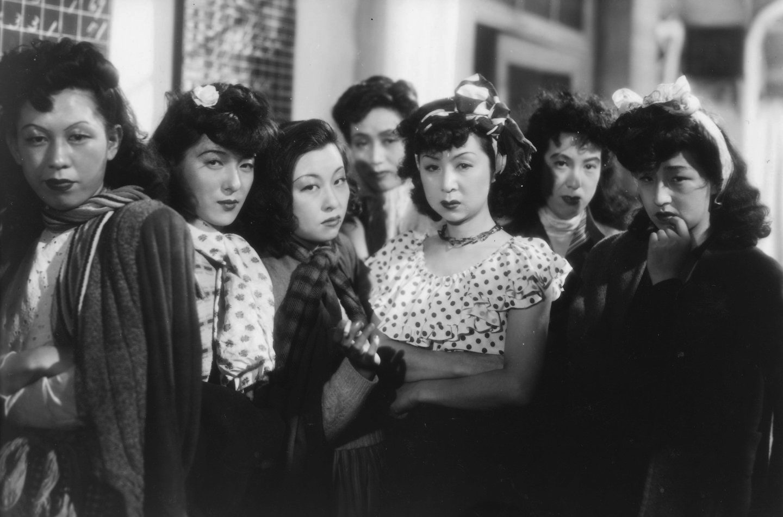 Filmszene aus Frauen der Nacht