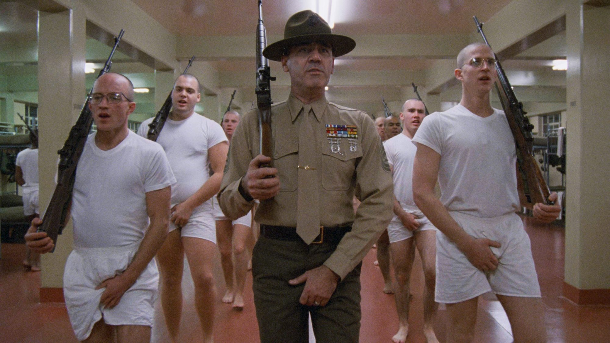 Filmszene aus Full Metal Jacket
