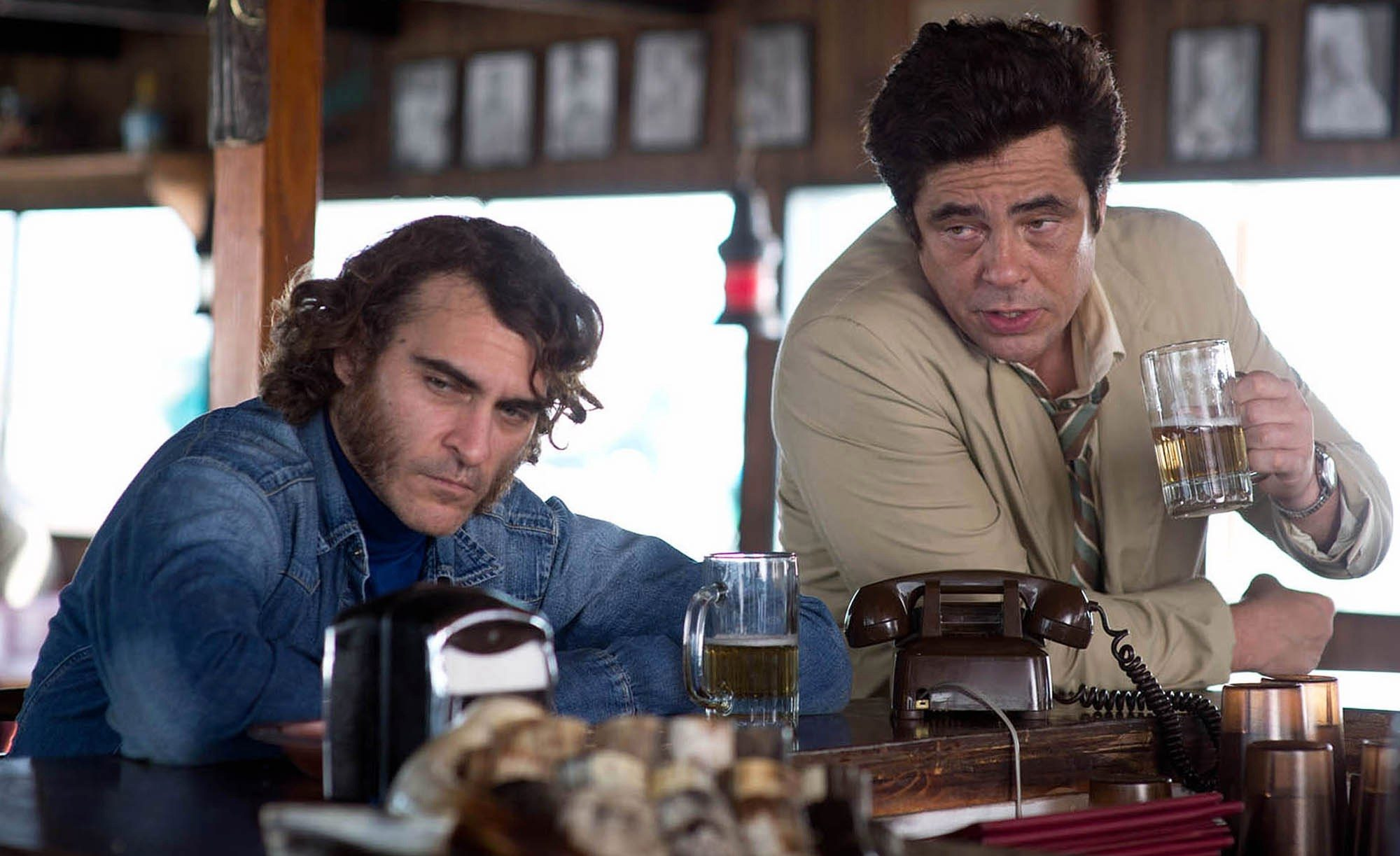 Filmszene aus Inherent Vice