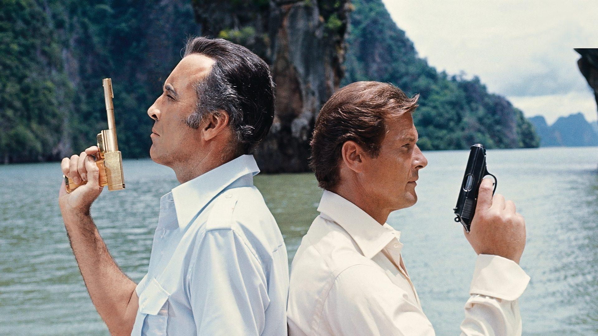 Filmszene aus James Bond 007 - Der Mann mit dem goldenen Colt