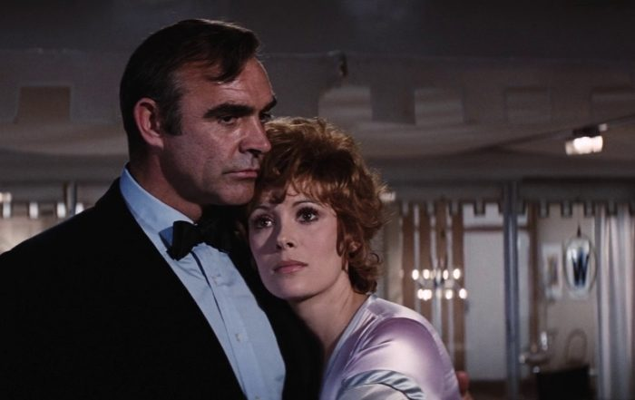 Filmszene aus James Bond 007 - Diamantenfieber