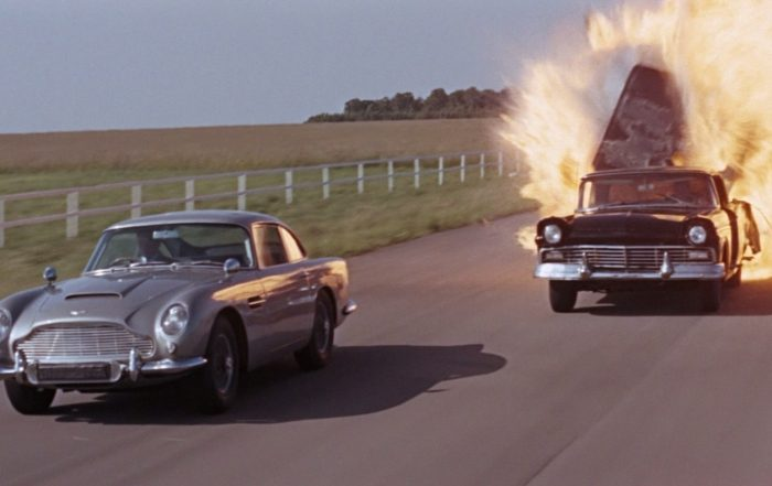 Filmszene aus James Bond 007 - Feuerball