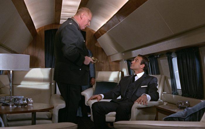 Filmszene aus James Bond 007 - Goldfinger