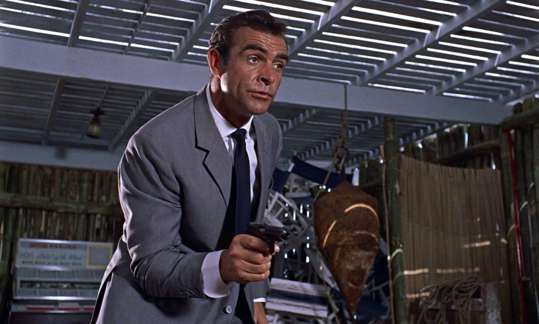 Filmszene aus James Bond 007 - Jagd nach Dr. No