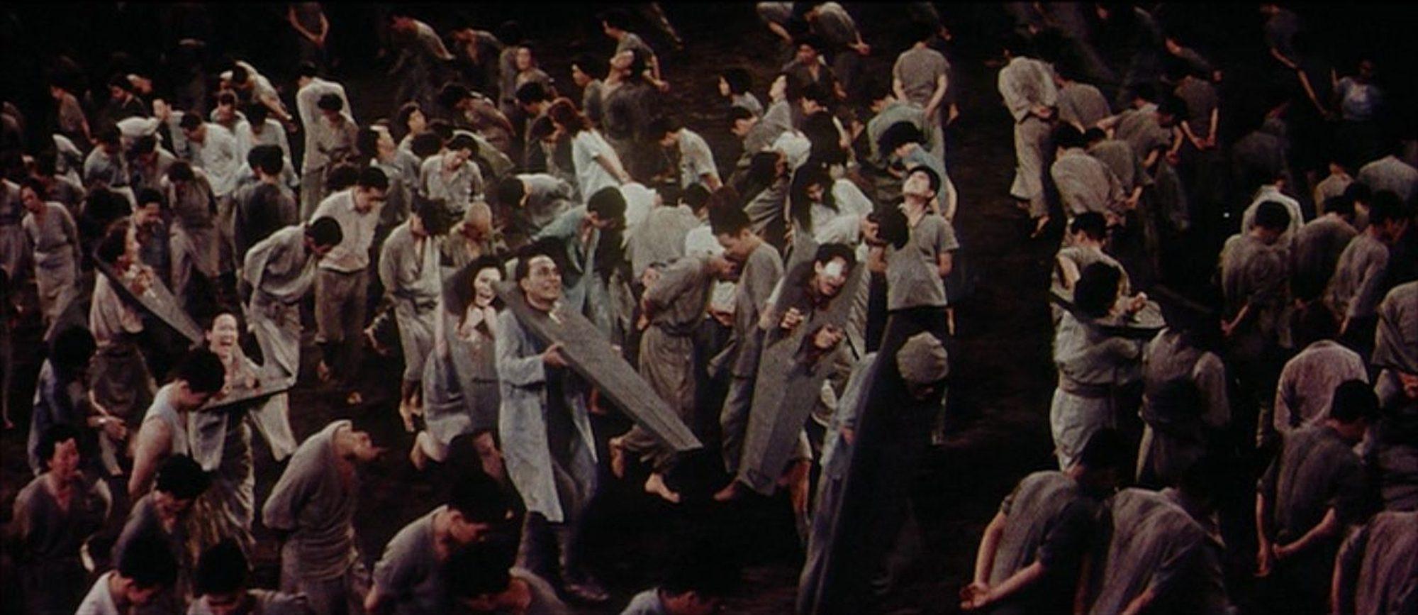 Filmszene aus Jigoku - Das Tor zur Hölle