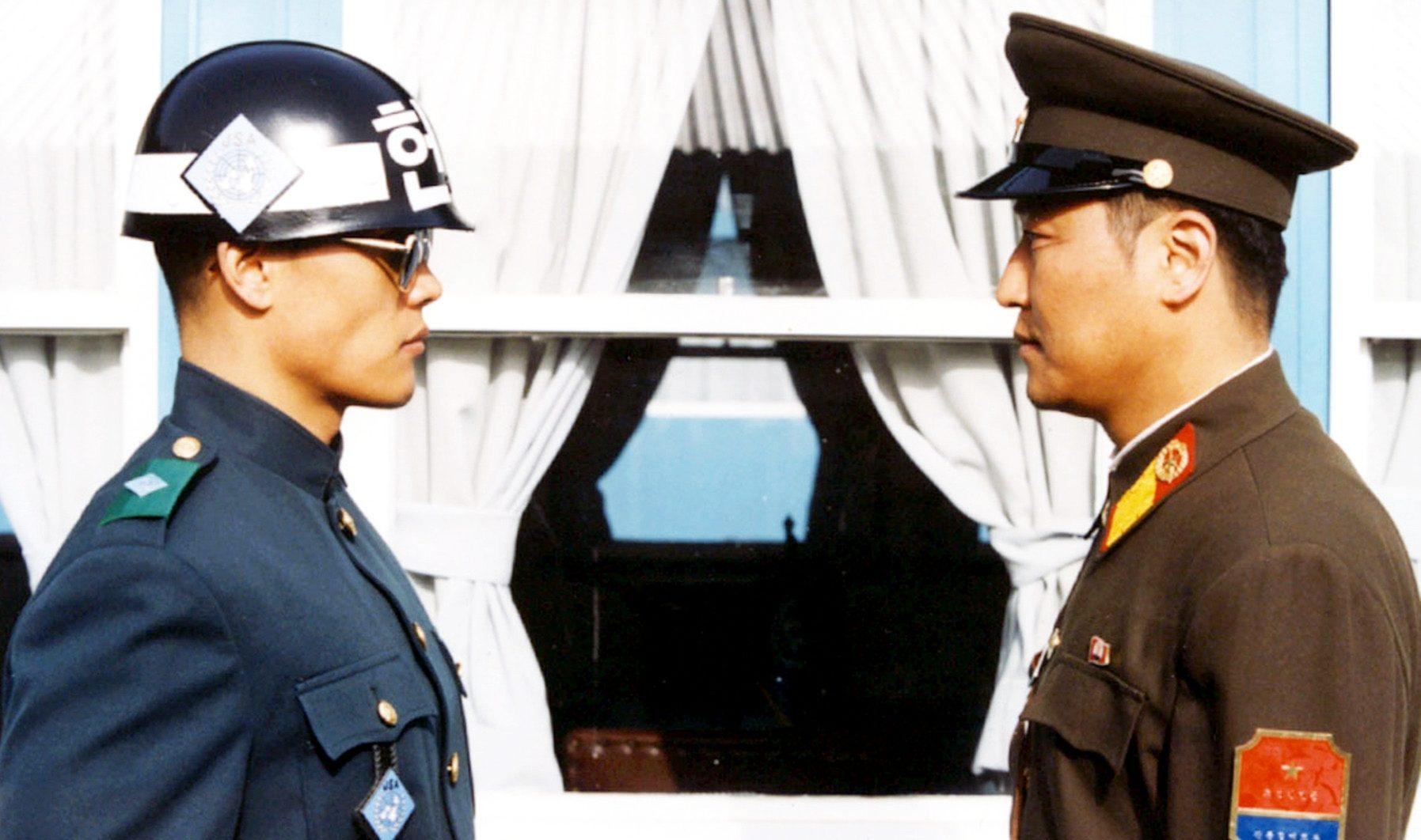 Filmszene aus Joint Security Area