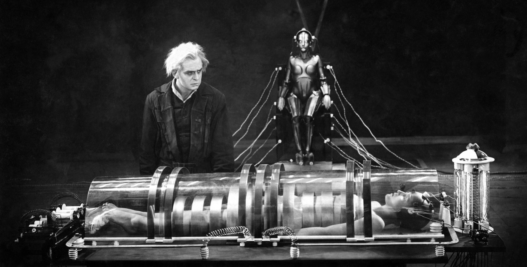 Filmszene aus Metropolis