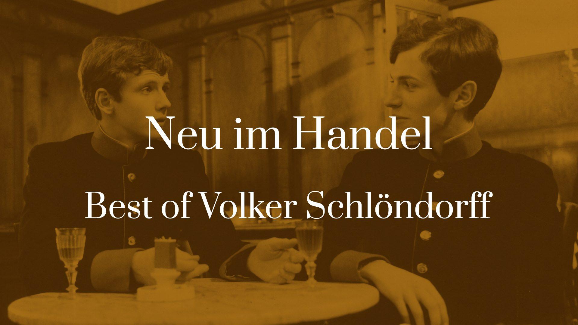 Titelbild von Neu im Handel - Best of Volker Schlöndorff