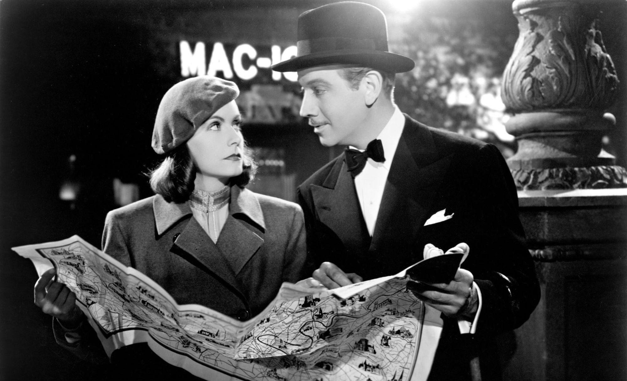 Filmszene aus Ninotschka
