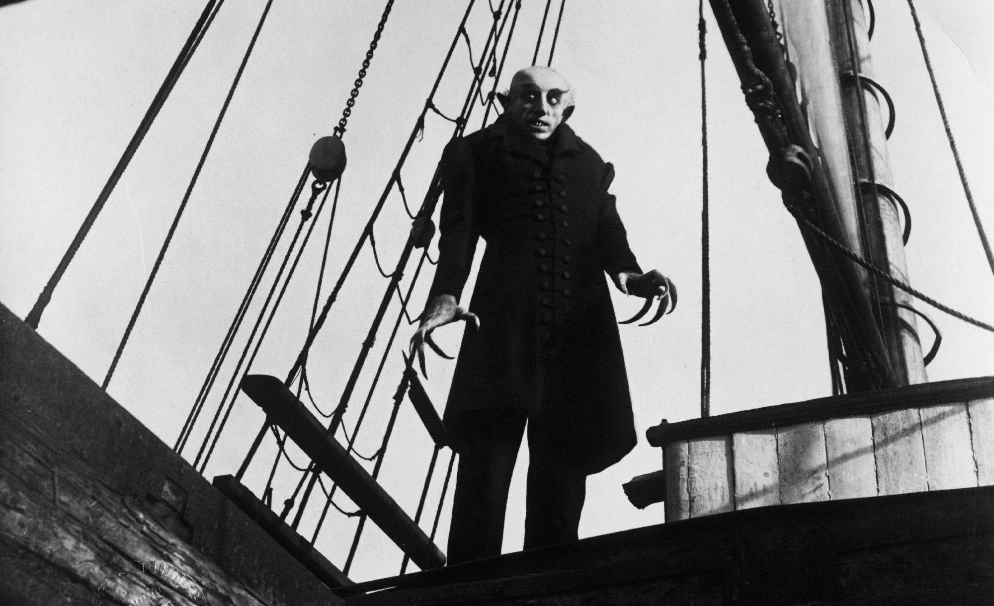 Filmszene aus Nosferatu - Eine Symphonie des Grauens