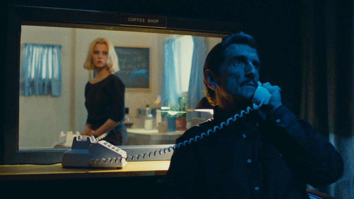 Filmszene aus Paris, Texas