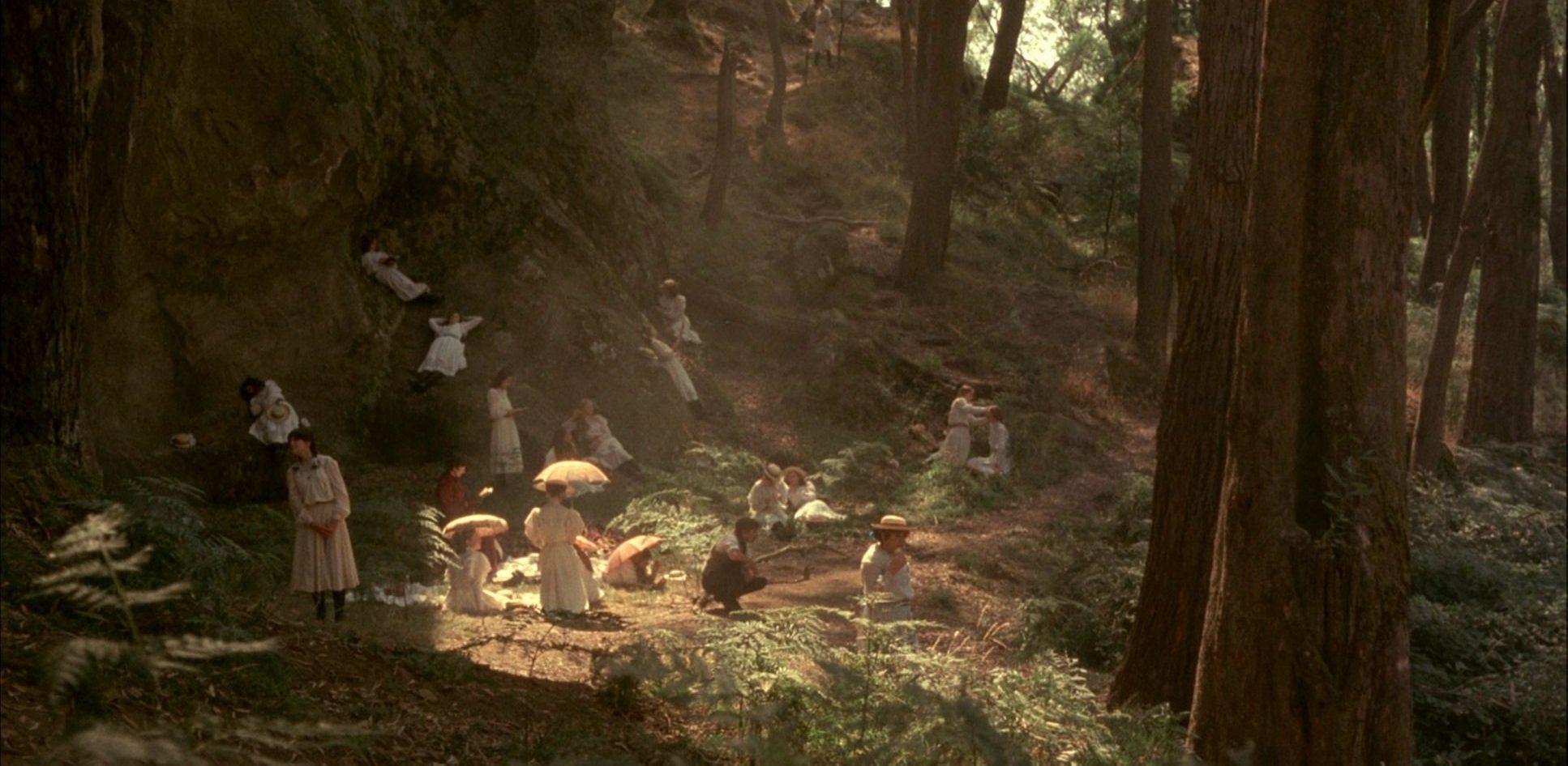 Filmszene aus Picknick am Valentinstag