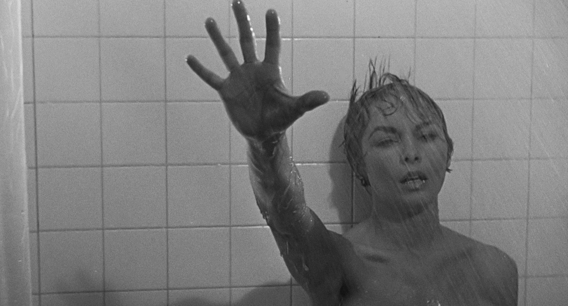 Filmszene aus Psycho