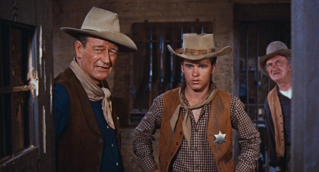 Filmszene aus Rio Bravo