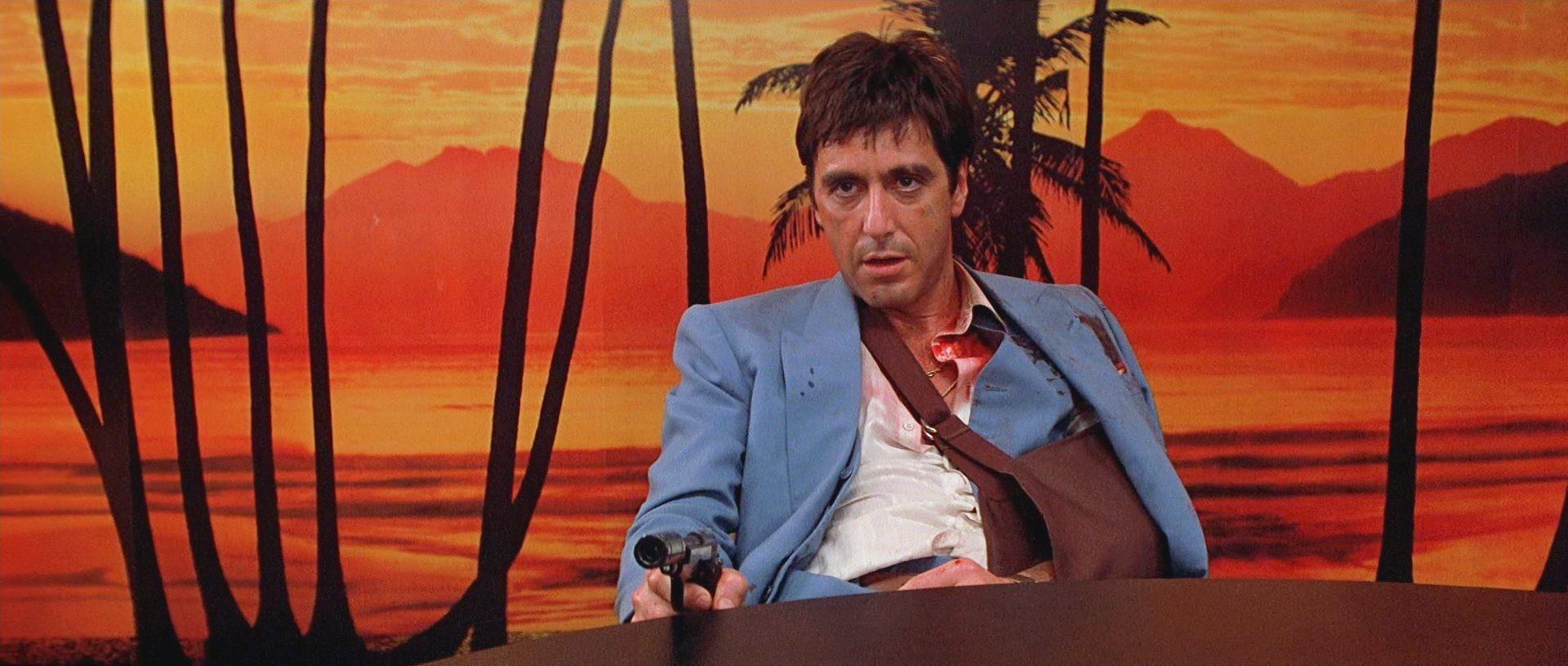 Filmszene aus Scarface (1983)