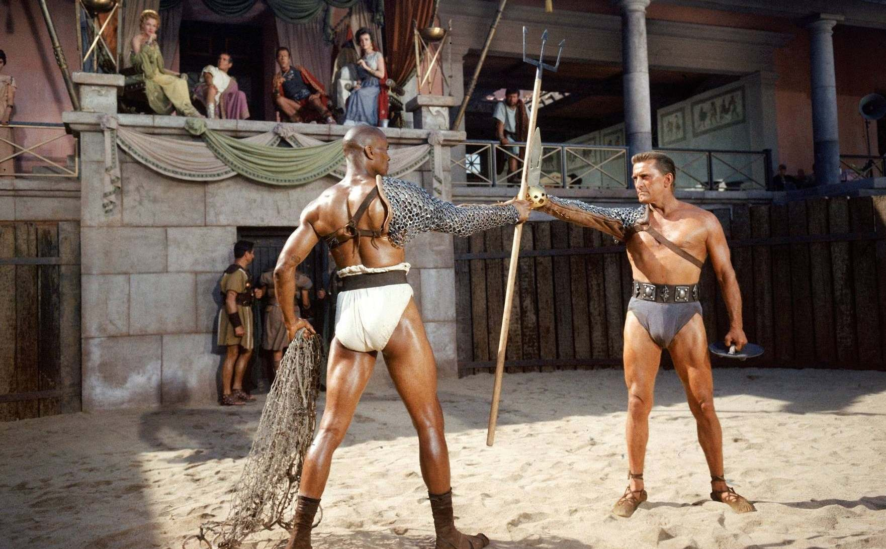 Filmszene aus Spartacus