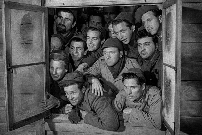 Filmszene aus Stalag 17