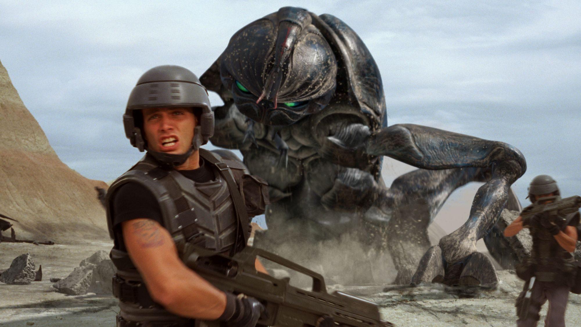 Filmszene aus Starship Troopers