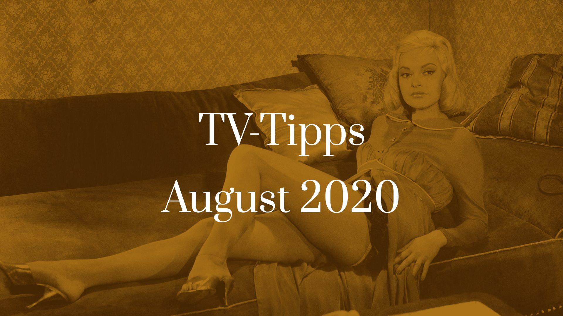 Titelbild zu TV-Tipps für August 2020