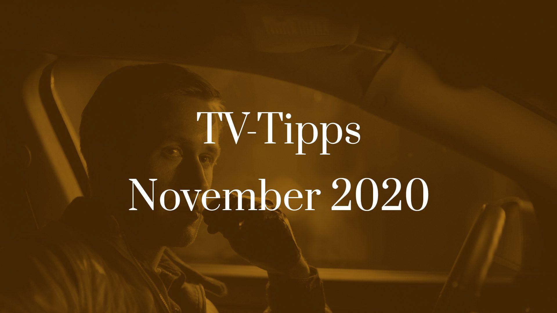 Titelbild zu TV-Tipps für November 2020