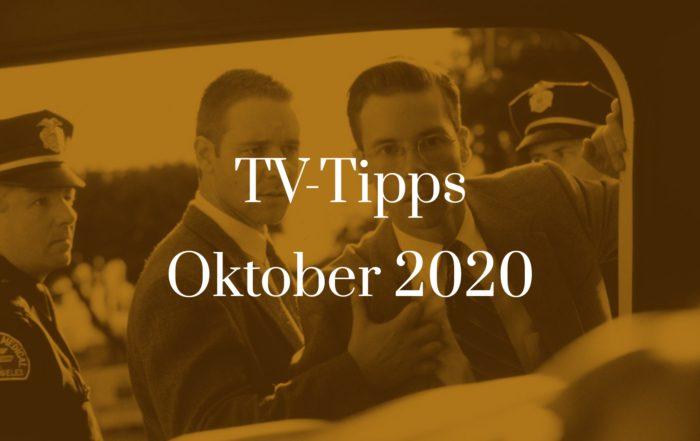 Titelbild zu TV-Tipps für Oktober 2020