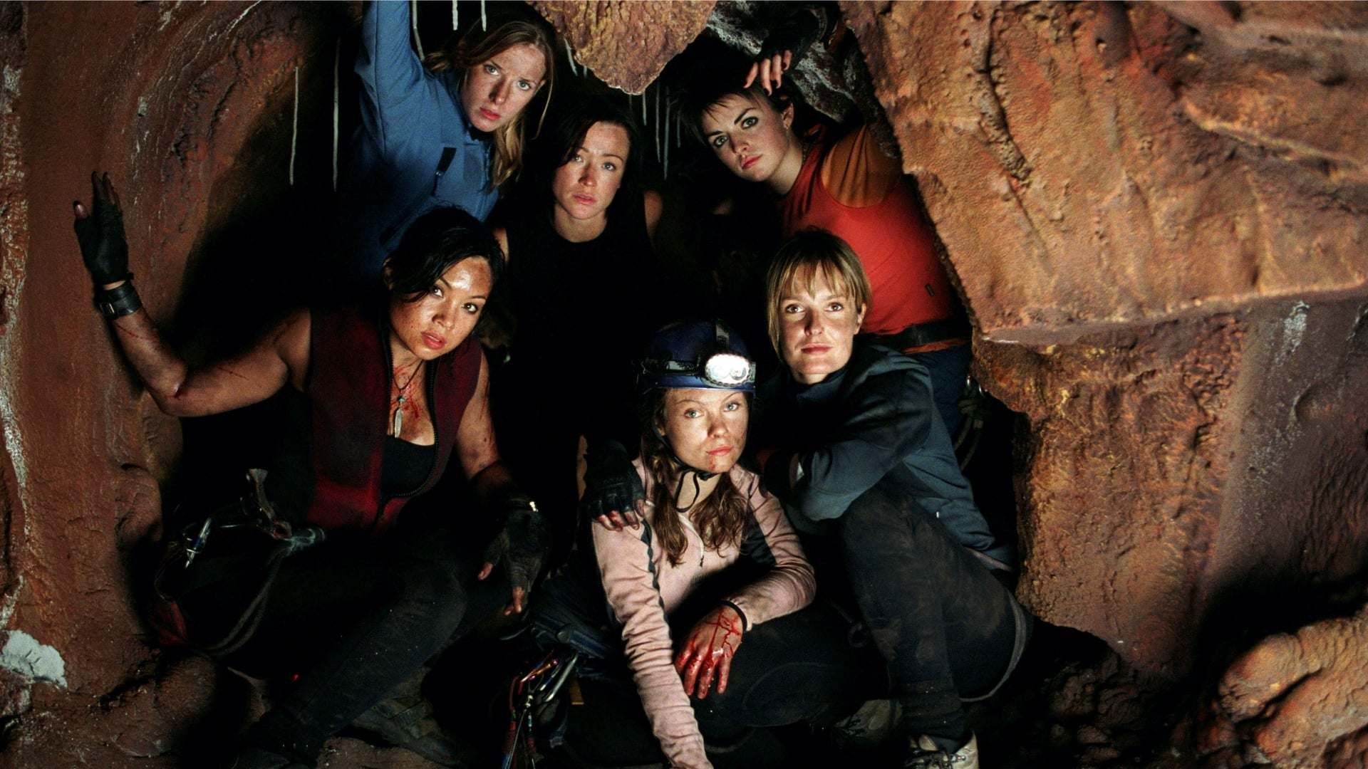 Filmszene aus The Descent