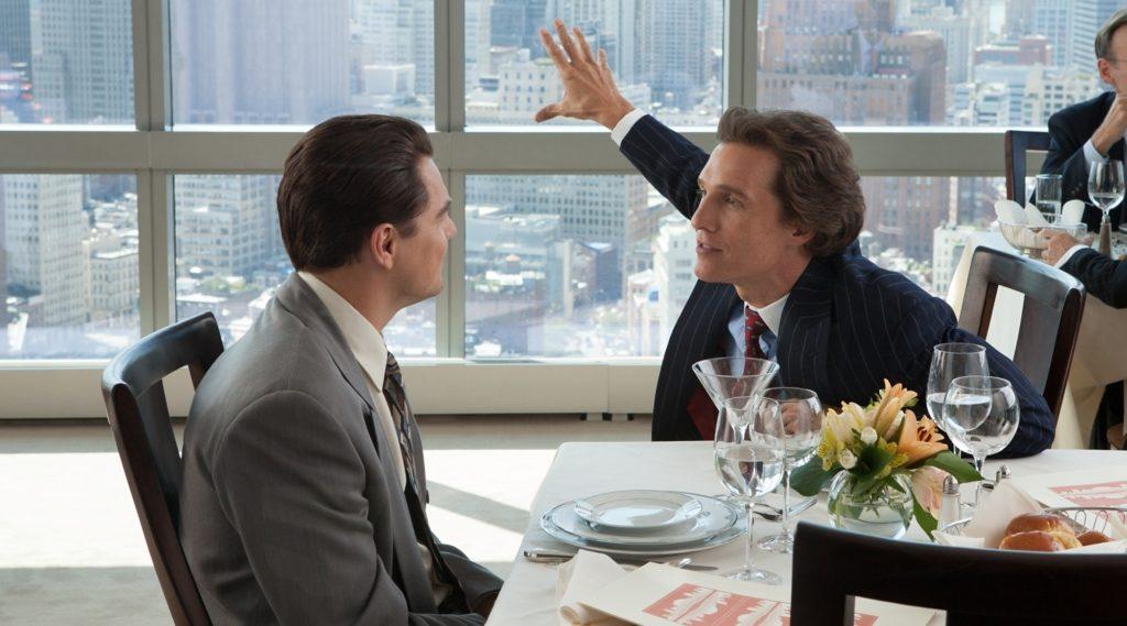 Filmszene aus The Wolf Of Wall Street