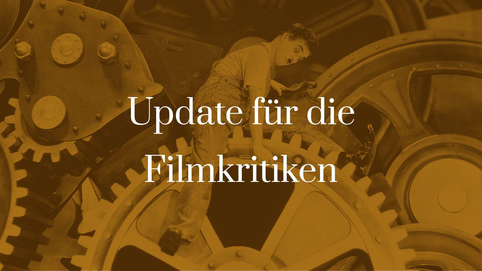 Titelbild zu Update für die Filmkritiken