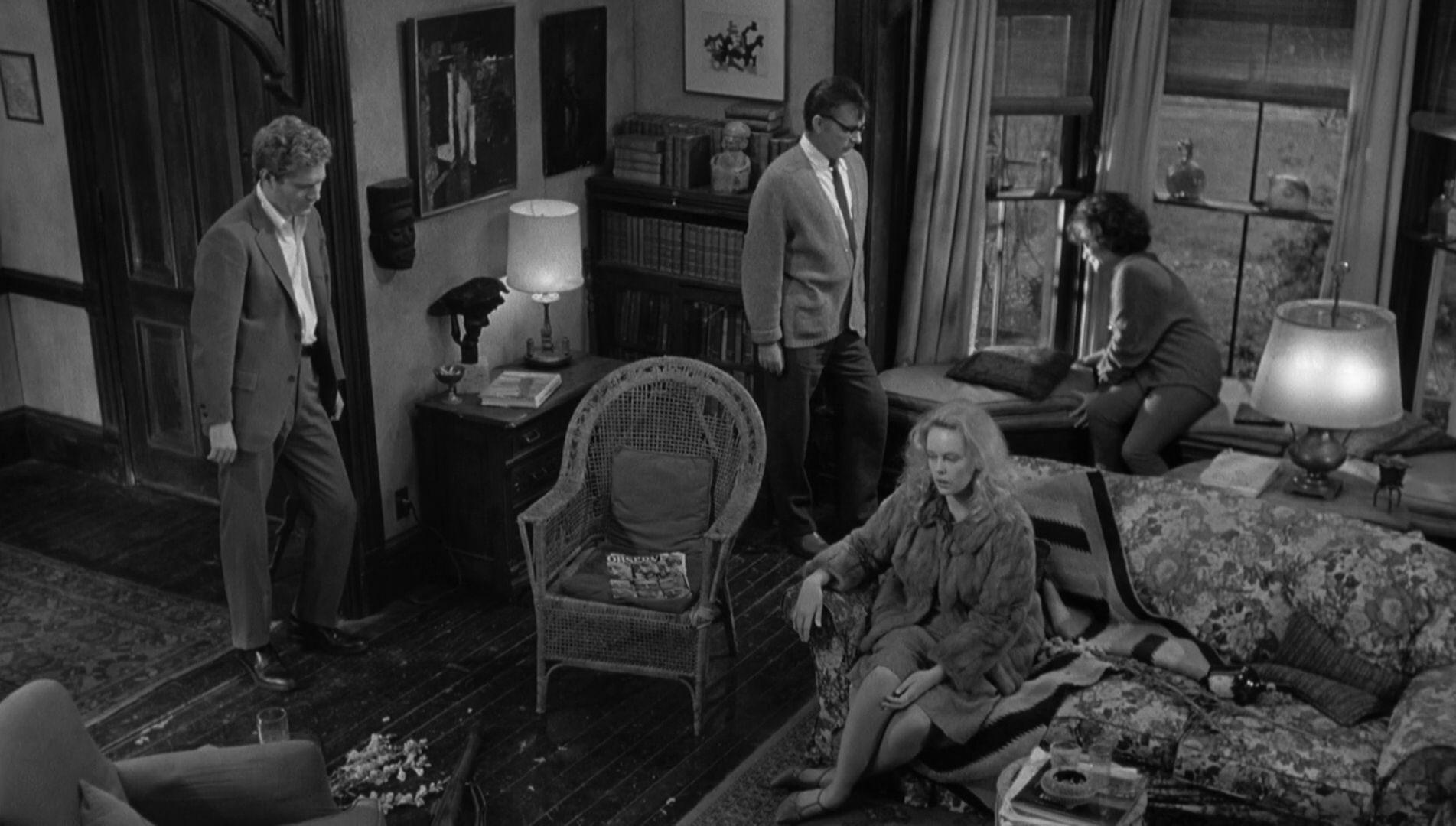 Filmszene aus Wer hat Angst vor Virginia Woolf